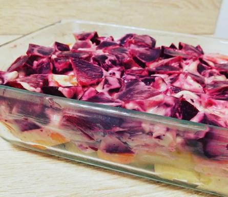 Salade de betteraves à la Russe