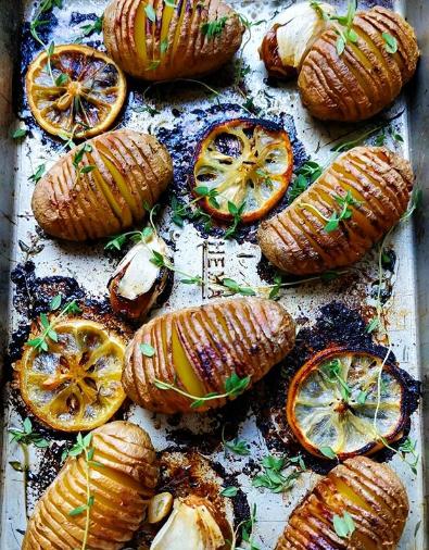 Pommes de terre rôties aux herbes de Provence