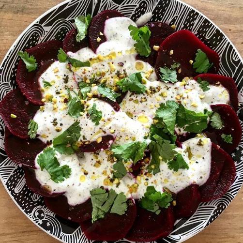 Salade de Betteraves au yaourt grec
